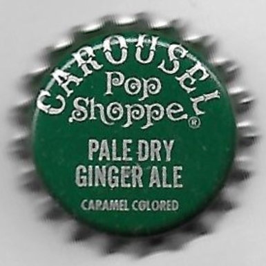 CAROUSEL POP SHOPPE PALE DRY GINGER ALE