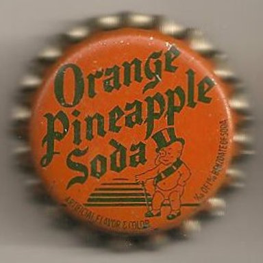 DUKE BEVERAGES ORANGE PINEAPPLE SODA