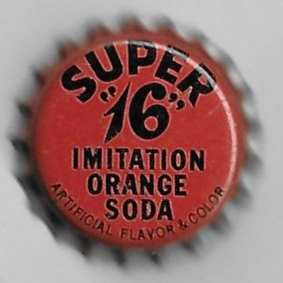 SUPER 16 IMITATION ORANGE SODA
