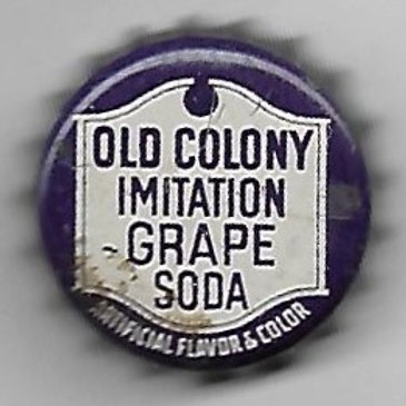 OLD COLONY IMITATION GRAPE SODA