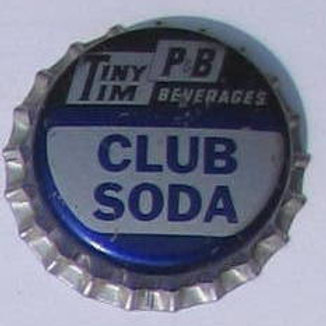 TINY TIM PB BEVERAGES CLUB SODA