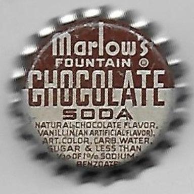 MARLOW'S FOUNTAIN CHOCOLATE SODA