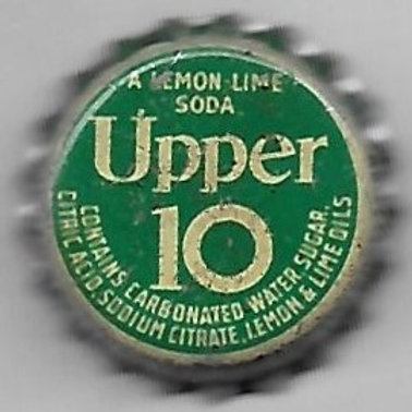 UPPER 10 LEMON-LIME SODA