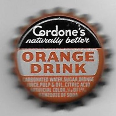 CORDONE'S ORANGE DRINK