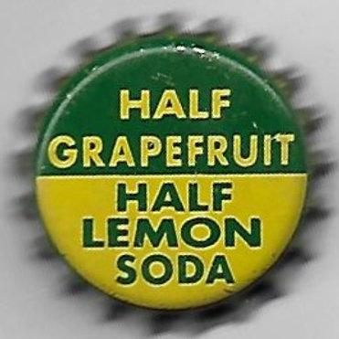HALF GRAPEFRUIT HALF LEMON