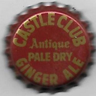 CASTLE CLUB GINGER ALE ANTIQUE PALE DRY