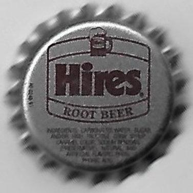 HIRES ROOT BEER GRAY