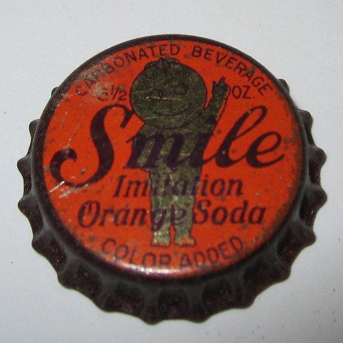 SMILE IMITATION ORANGE SODA MAGNET