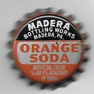 MADERA ORANGE SODA