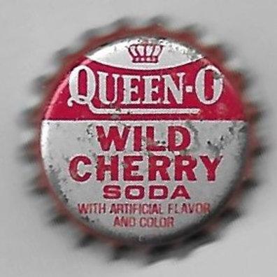 QUEEN-O WILD CHERRY SODA