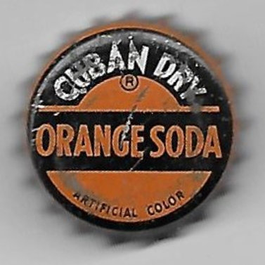 CUBAN DRY ORANGE SODA