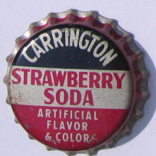 CARRINGTON STRAWBERRY SODA