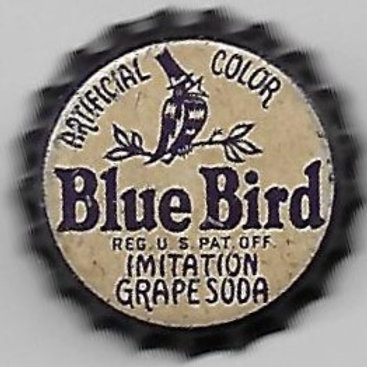 BLUE BIRD IMITATION GRAPE SODA