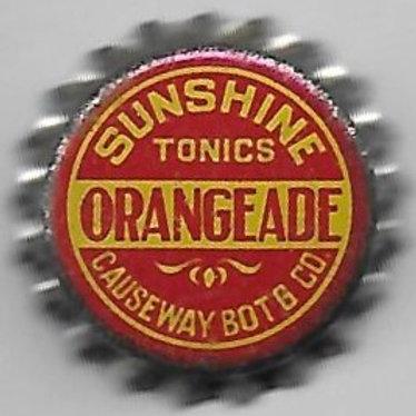 SUNSHINE TONICS ORANGEADE, Boston, Mass., 1926-30