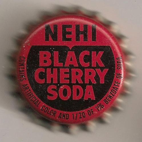 NEHI BLACK CHERRY SODA