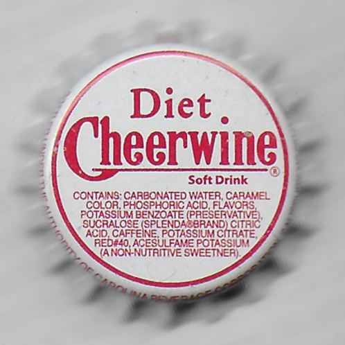 CHEERWINE, DIET