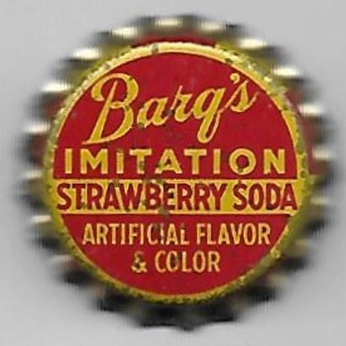 BARQ'S IMITATION STRAWBERRY SODA