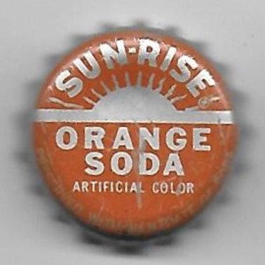 SUN-RISE ORANGE SODA