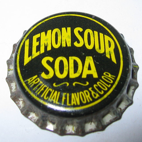 LEMON SOUR SODA MAGNET