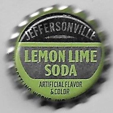 JEFFERSONVILLE LEMON LIME SODA