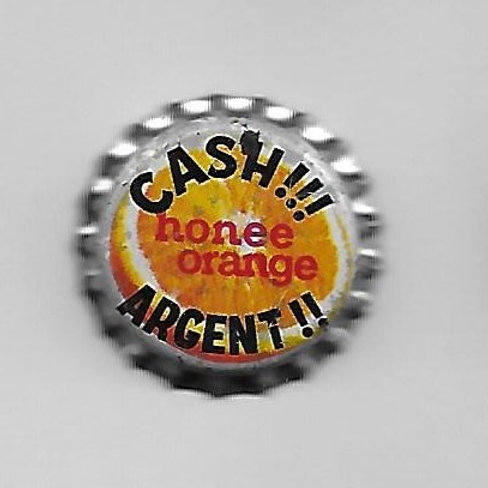 PURE SPRINGS HONEE ORANGE; CASH!!! ARGENT!! CANADA