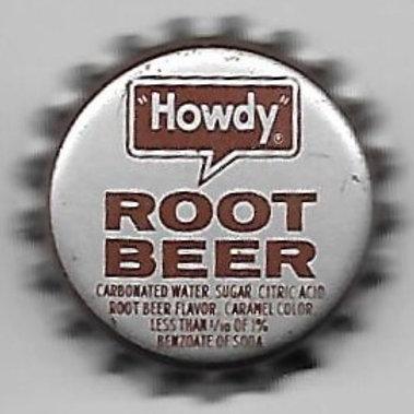 HOWDY ROOT BEER