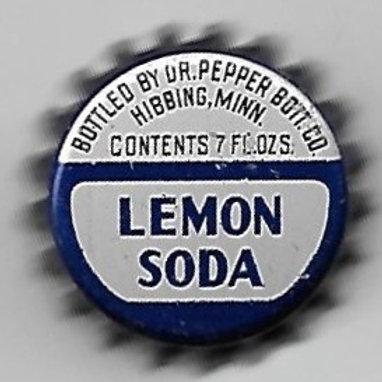 DR. PEPPER LEMON SODA; HIBBING, MN