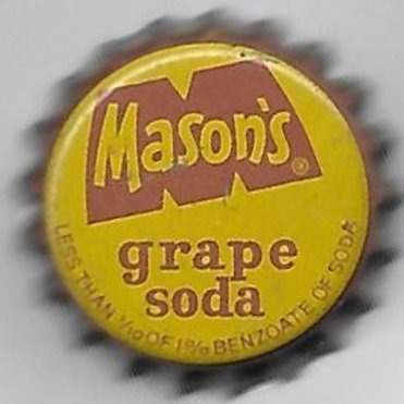 MASON'S GRAPE SODA