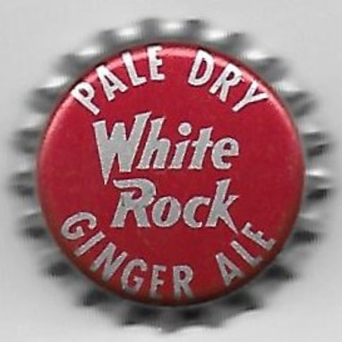 WHITE ROCK PALE DRY GINGER ALE