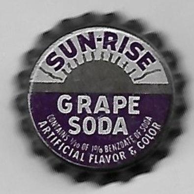 SUN-RISE GRAPE SODA