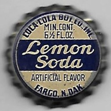 COCA-COLA LEMON SODA