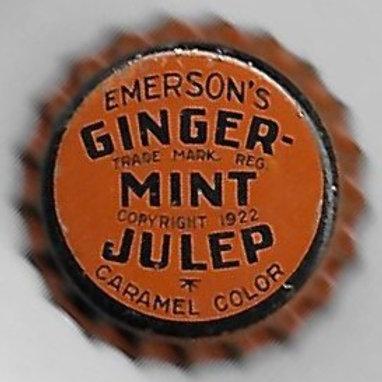 EMERSON'S GINGER-MINT JULEP