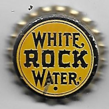 WHITE ROCK WATER SOLID CORK