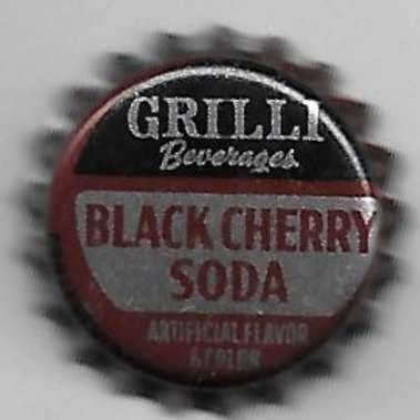 GRILLI BLACK CHERRY SODA