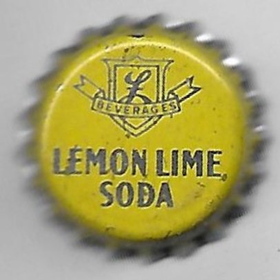 LASSER' BEVERAGES LEMON LIME SODA OHIO