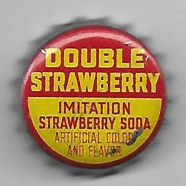 DOUBLE STRAWBERRY IMITATION STRAWBERRY SODA
