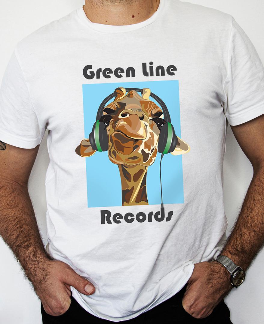 Green Line Records T-Shirt, 2016