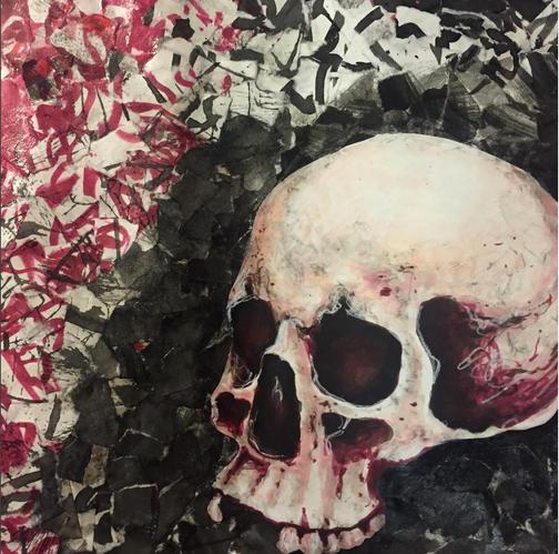 Skull Collage, 2017