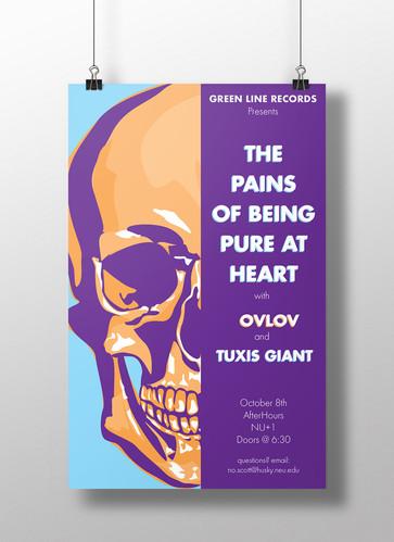 Skull Show Poster, 2016