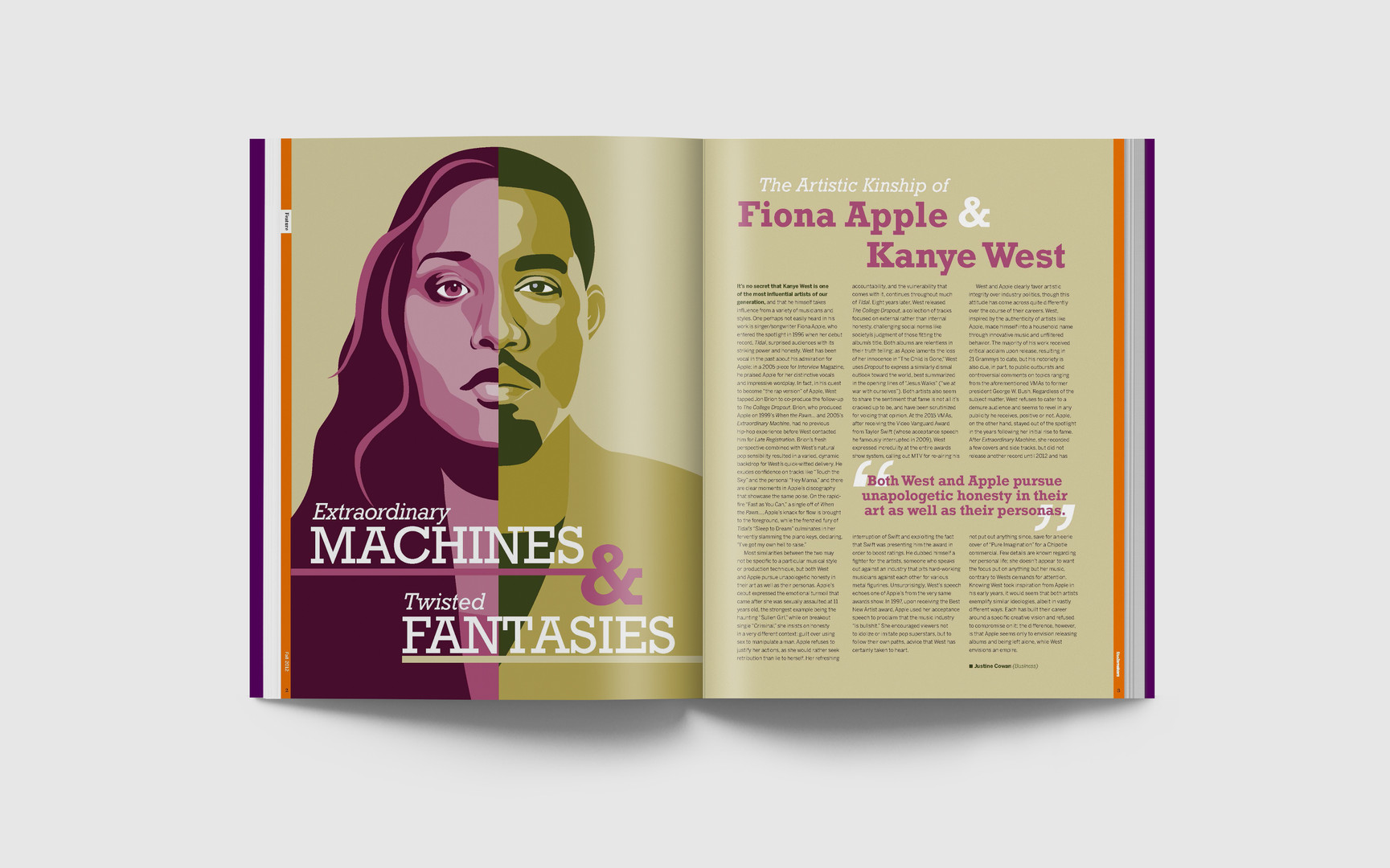 Fiona & Kanye Spread, 2017