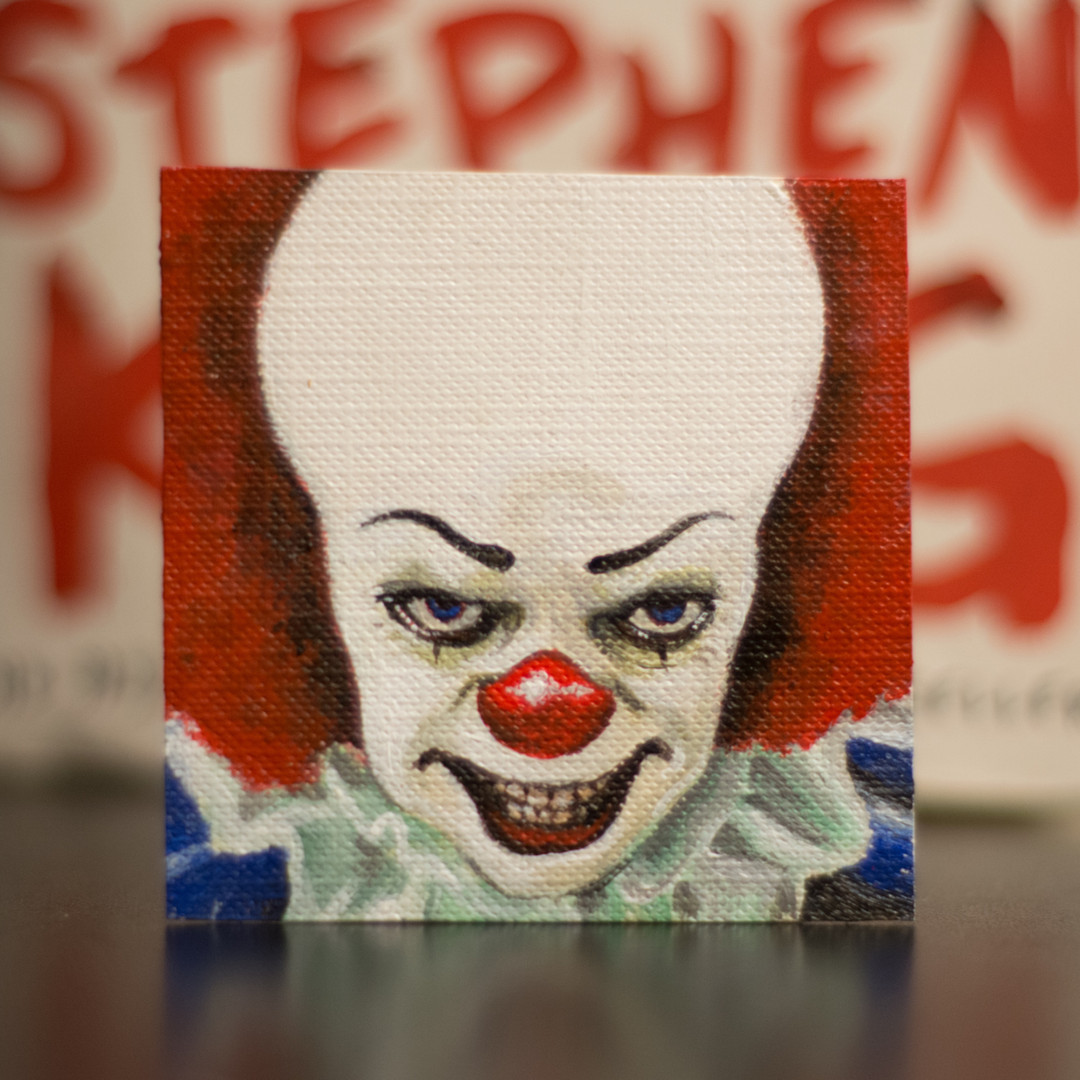 Pennywise Mini Painting, 2018