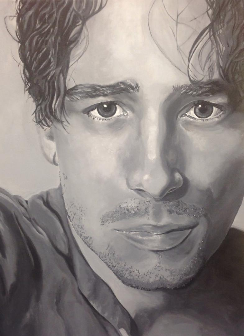 Jeff Buckley Portrait, 2015