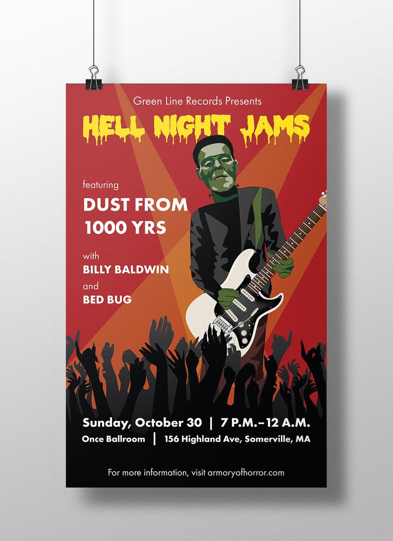 Halloween Show Poster, 2016