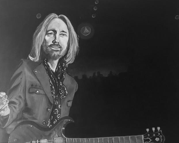 Tom Petty Painting, 2019