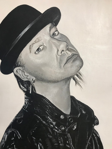 Robin Finck Portrait, 2018