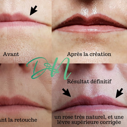 Maquillage permanent lèvres bethune