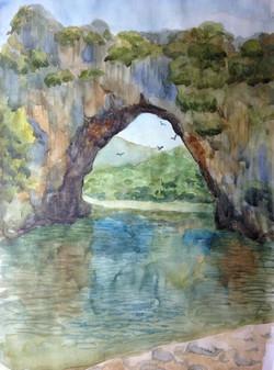 Morning (Vallon Pont d'Arc )