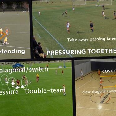 Como o futsal pode melhorar a defesa no futebol?