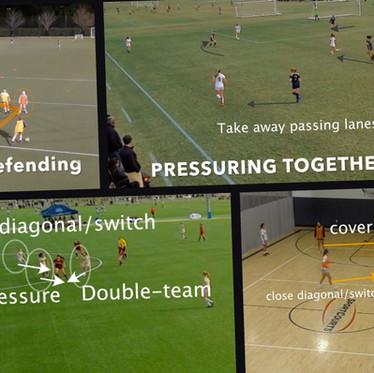 Come può il Futsal migliorare un difensore nel calcio?