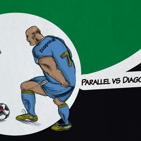 Onde está o espaço?                   Parte 3:  Paralela vs Diagonal